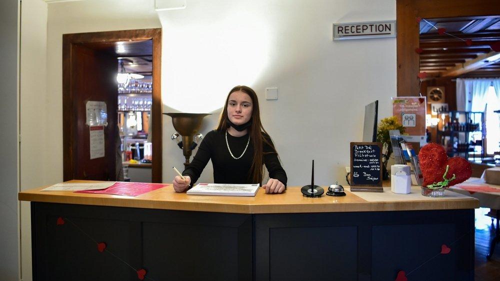 Altina Nrecaj a dû s'armer de patience pour trouver un stage «découverte» d'employée de commerce.