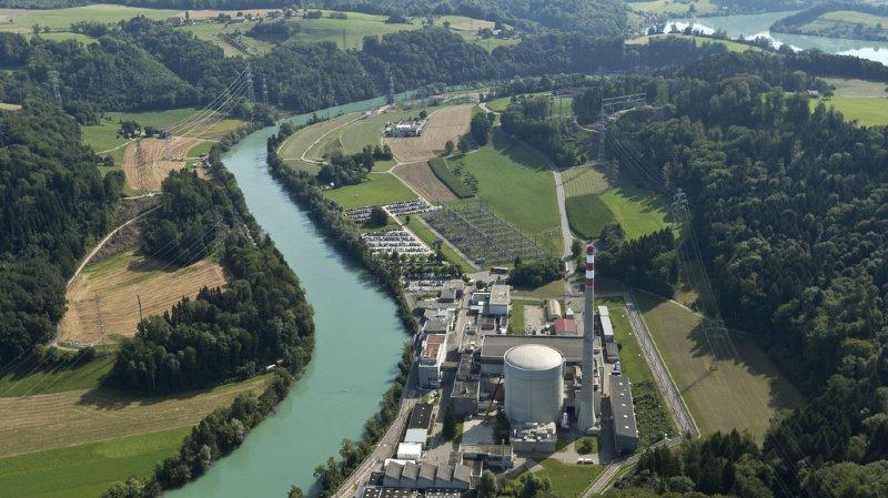 Crue extrême de l'Aar: des centrales nucléaires seraient submergées d'environ 1,1 mètre