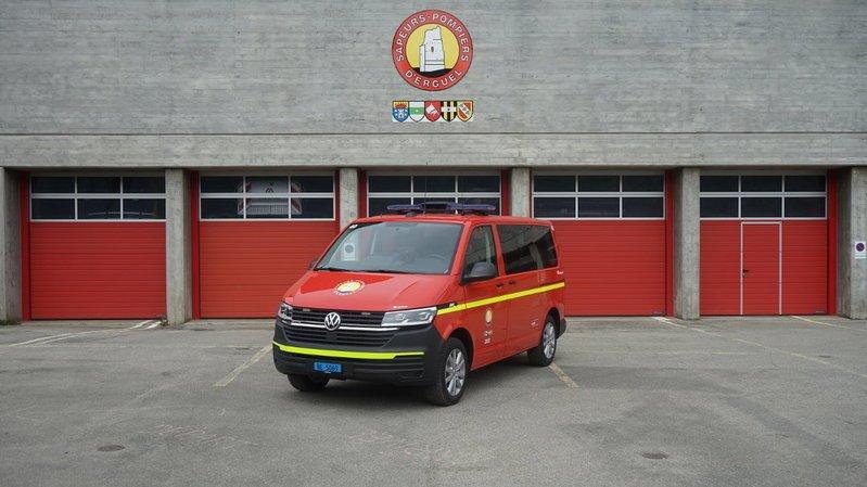 Véhicule des sapeurs-pompiers pris pour cible à Saint-Imier
