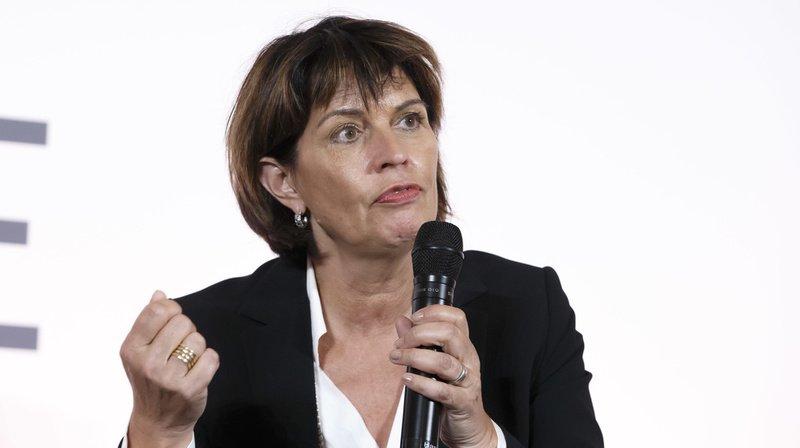 Doris Leuthard a relevé le rôle joué par la majorité féminine du Conseil fédéral.
