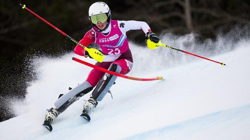 Ski alpin: Amélie Klopfenstein sélectionnée pour les championnats du monde juniors