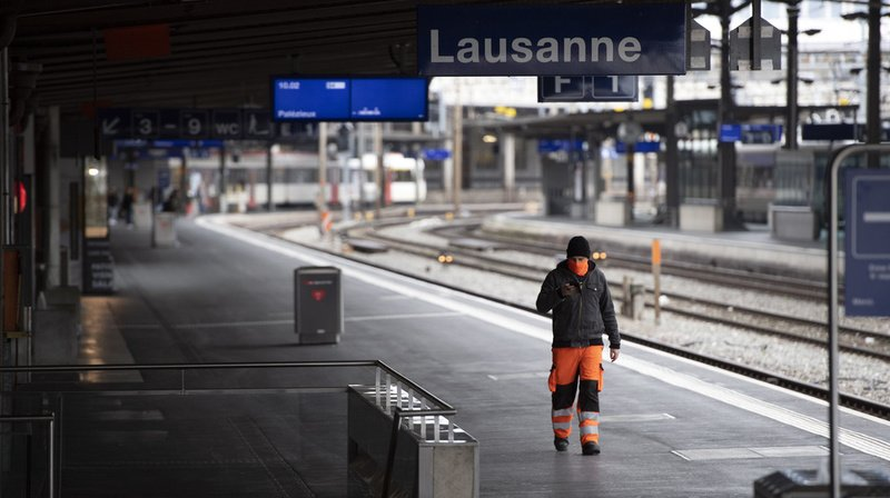 Trafic ferroviaire perturbé: gare de Lausanne partiellement fermée ce week-end