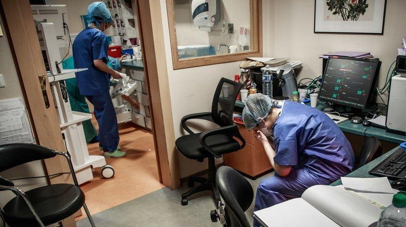 Coronavirus: le personnel soignant a été très stressé durant la première vague