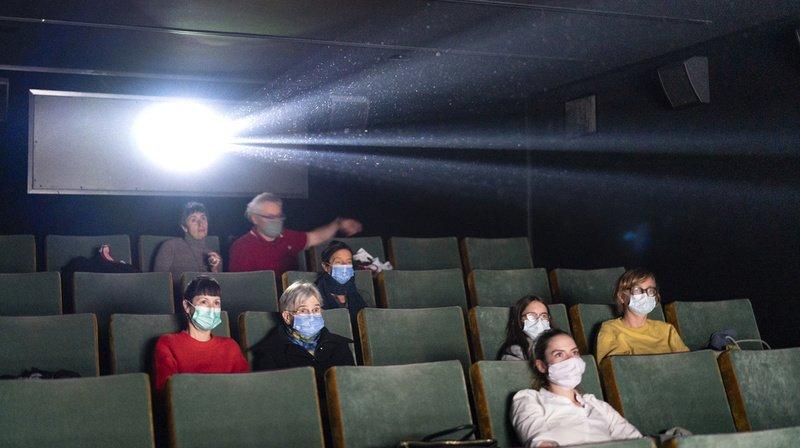 Cinémas suisses: 2 fois moins de projections en 2020