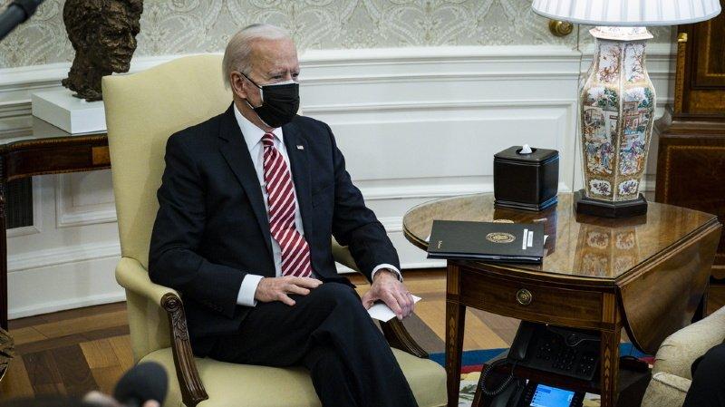 Joe Biden promettra d'ailleurs vendredi, à l'occasion de cette réunion du G7, quatre milliards de dollars pour le dispositif Covax, a indiqué jeudi la Maison Blanche (ARCHIVE).