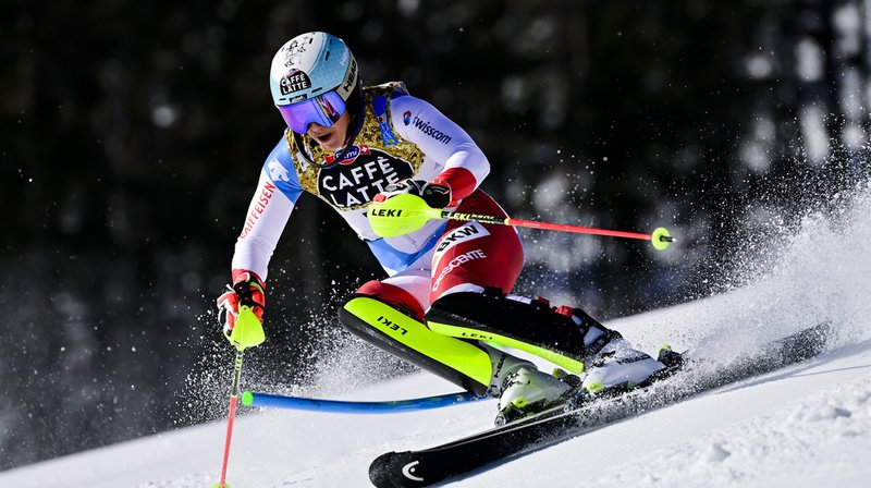 Ski alpin – Mondiaux de Cortina: Wendy Holdener au pied du podium du slalom, Camille Rast 8e