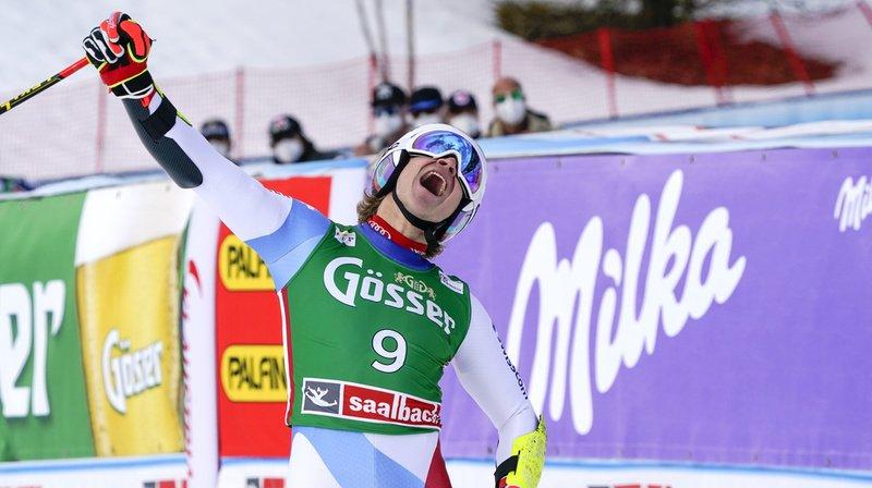 Ski alpin: Marco Odermatt remporte le Super-G de Saalbach