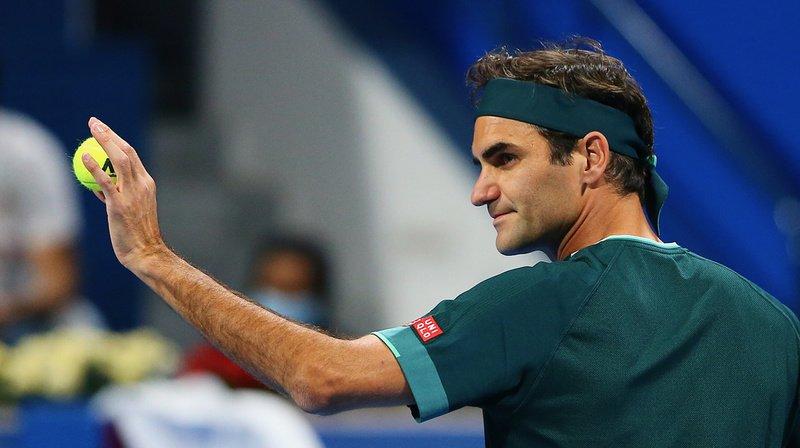 Roger Federer avait fait son grand retour sur les courts mercredi.