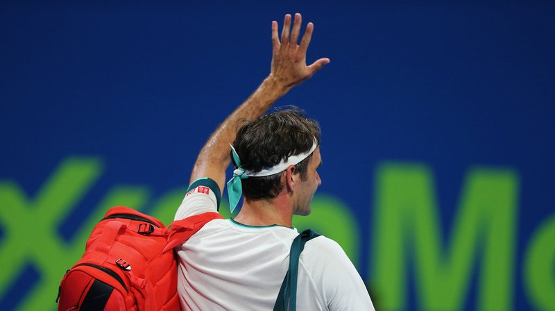 Federer repasse par la case entraînement.