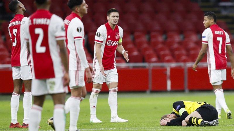 Football – Europa League: Young Boys battu 3-0 par l'Ajax lors du match aller des huitièmes de finale