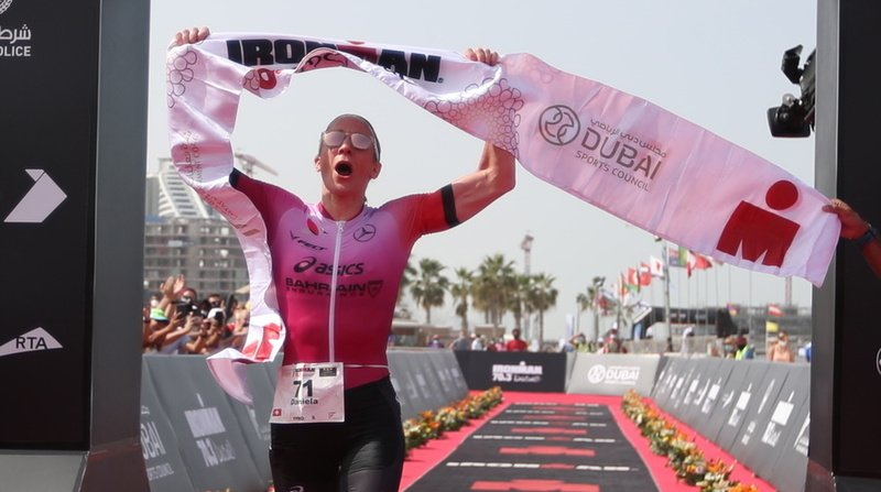 Triathlon – Ironman 70.3 de Dubai: une quatrième victoire et un record pour Daniela Ryf