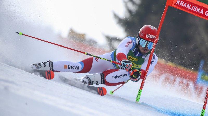 Ski alpin: Meillard en tête après la 1re manche du géant de Kranjska Gora