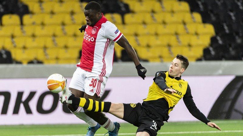 Football – Europa League: Young Boys perd 2-0 contre l'Ajax lors du match retour des 8e de finale