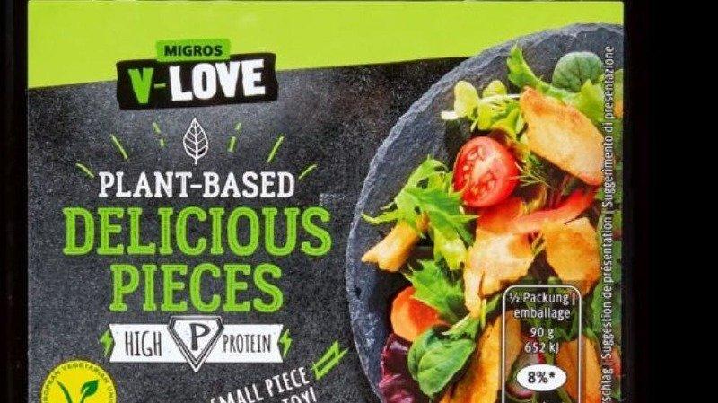 Migros rappelle le produit «Delicious pieces», de V-Love