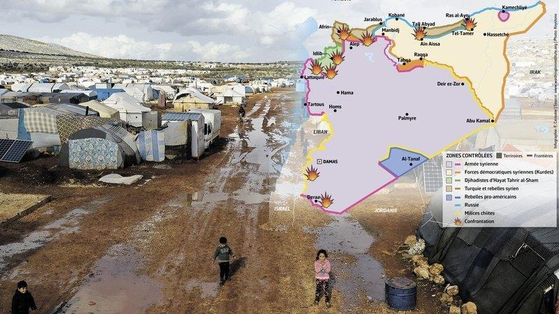 Syrie: la guerre s'éternise