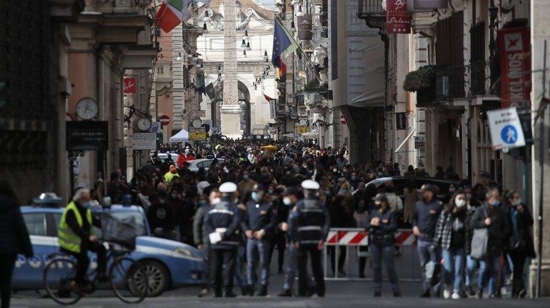 Coronavirus: l'Italie à nouveau placée sous cloche