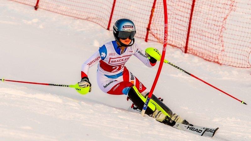 Ski alpin: «une très belle expérience» en Bulgarie pour Amélie Klopfenstein