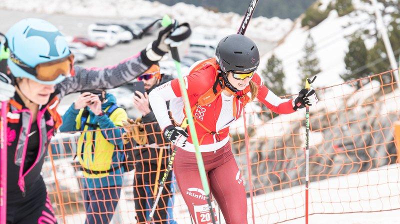 Ski-alpinisme: Marianne Fatton huitième en individuel