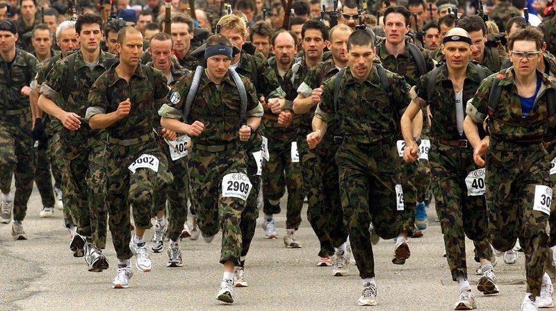 La fin de la course militaire neuchâteloise en 2005