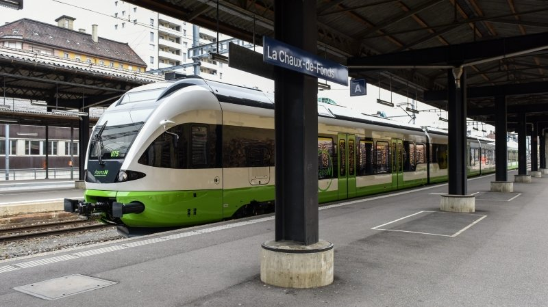 Travaux sur la ligne Neuchâtel – La Chaux-de-Fonds: ce qu'il faut savoir pour les usagers