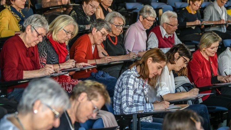 Neuchâtel: tester son orthographe en ligne avec l'Université du troisième âge