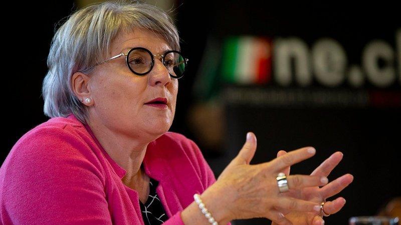 Neuchâtel: Monika Maire-Hefti, la spécialiste des petites phrases