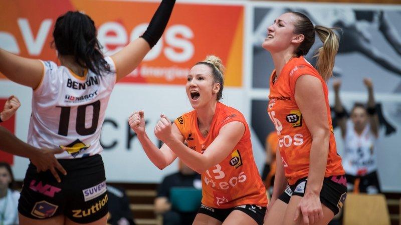 Play-off: «Je crois vraiment en nous», lâche Sarah Trösch, la passeuse du NUC
