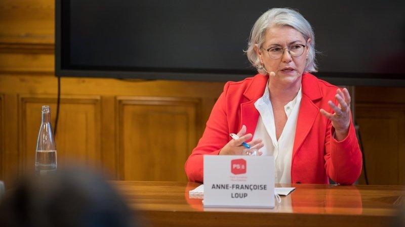 Anne-Françoise Loup à la tête de la HE-Arc Santé