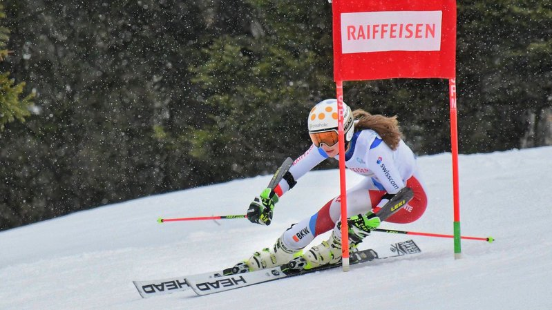 Ski alpin: La Neuvevilloise Amélie Klopfenstein «sans pression» en Bulgarie