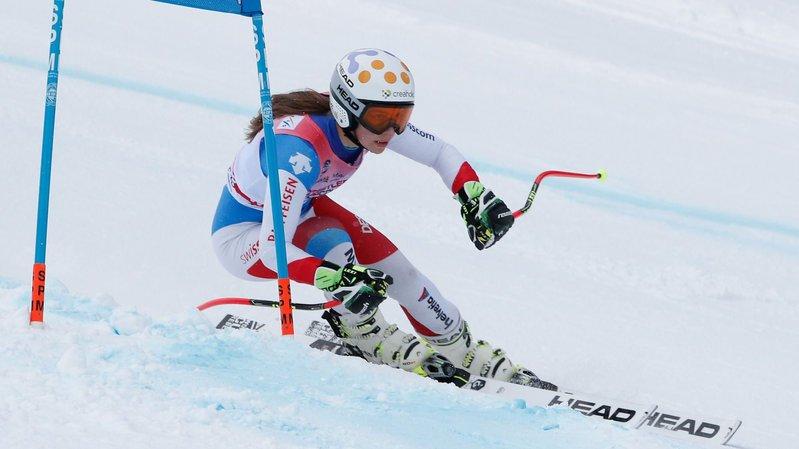 Ski alpin: Amélie Klopfenstein loin des meilleures au géant de Bansko