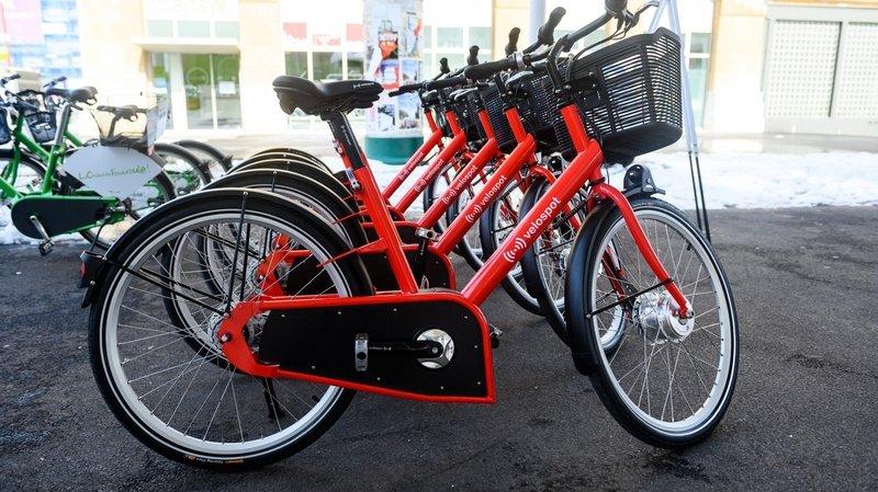 La Chaux-de-Fonds promeut ses vélos en libre-service