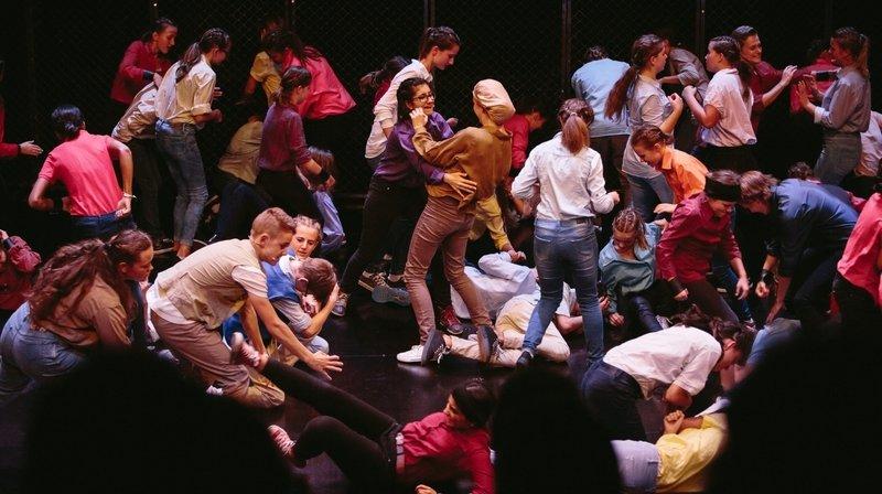 La Chaux-de-Fonds: pour sauver leur théâtre des Abeilles, ils font des sketches