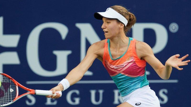 Viktorija Golubic a réalisé une très belle semaine à Monterrey malgré sa défaite en finale.