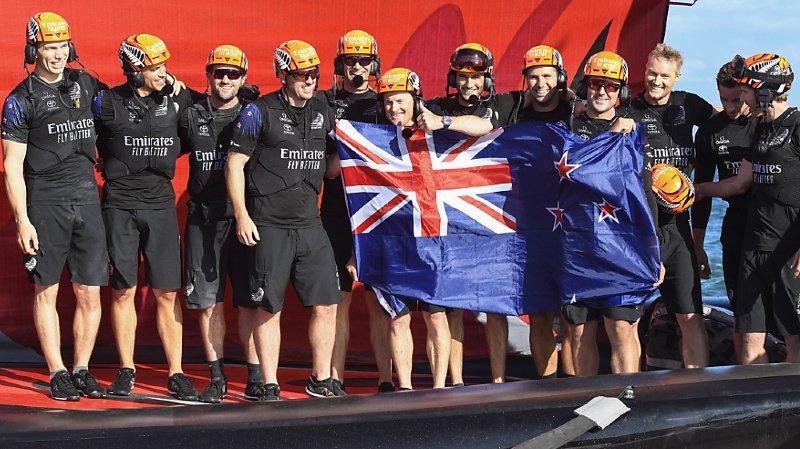Voile – Coupe de l'America: un quatrième sacre pour Team New Zeland