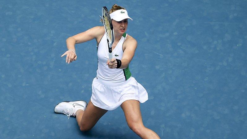 Tennis: Jil Teichmann éliminée en 1/2 finale à Adélaïde