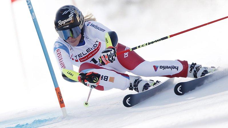 Lara Gut-Behrami est 14e après la 1re manche du géant de Jasna.
