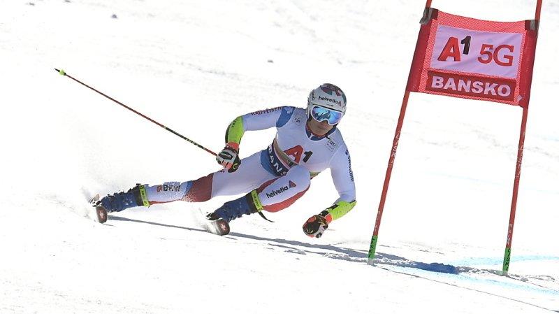 Ski alpin: Marco Odermatt se classe 6e après la première manche du géant de Bansko