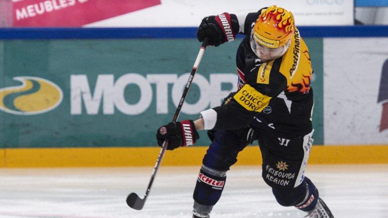 Killian Mottet en feu depuis quelques semaines a marqué son 20e but de la saison pour Fribourg-Gottéron contre Ambri-Piotta.