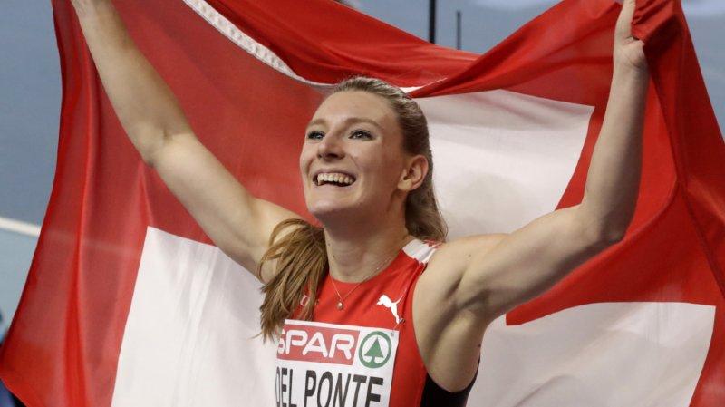 Athlétisme: Ajla Del Ponte championne d'Europe du 60m