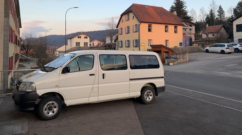 Un nouveau bus scolaire à La Chaux-du-Milieu