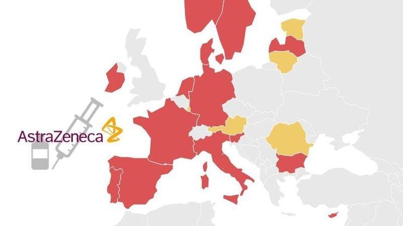Coronavirus: pourquoi le vaccin AstraZeneca est suspendu dans 15 pays européens