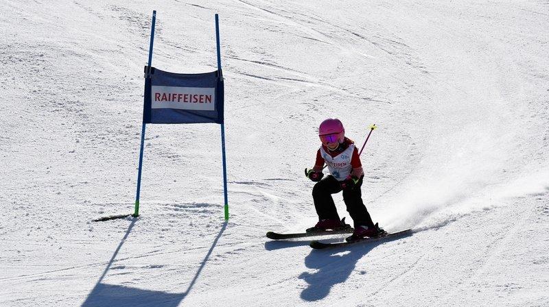Giron jurassien: enfin de la compétition pour la relève du ski aux Diablerets
