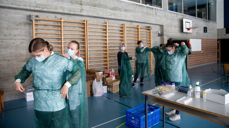Covid-19: pas de foyer d'infection au collège Numa-Droz de La Chaux-de-Fonds