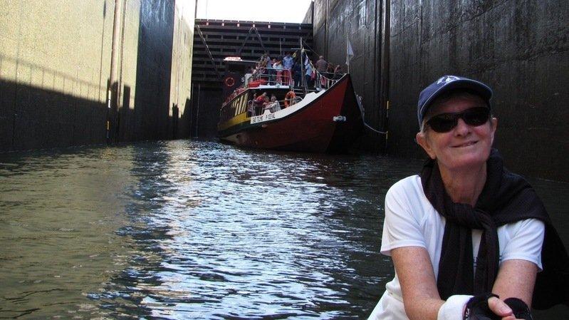 Sally Zimmermann a formé plus d'une centaine de personnes aux joies et aux peines de l'aviron.