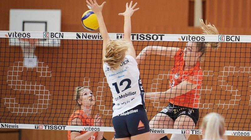 Volleyball: Aesch-Pfeffingen mis en quarantaine, Guin est propulsé en finale pour deux points