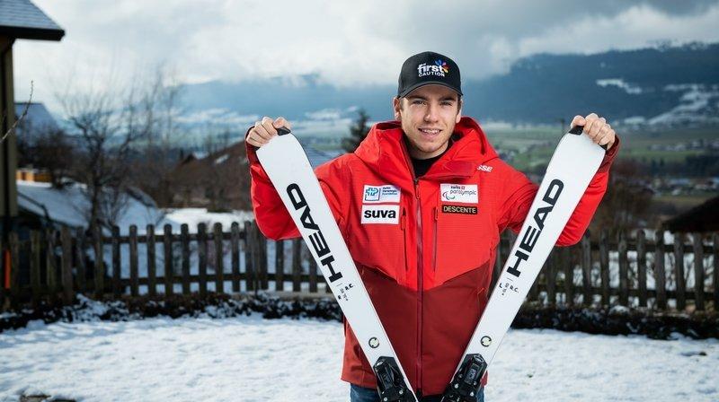 Les championnats du monde en Norvège et les Jeux paralympiques à Pékin, tous deux en 2022, sont les prochains objectifs de Robin Cuche.