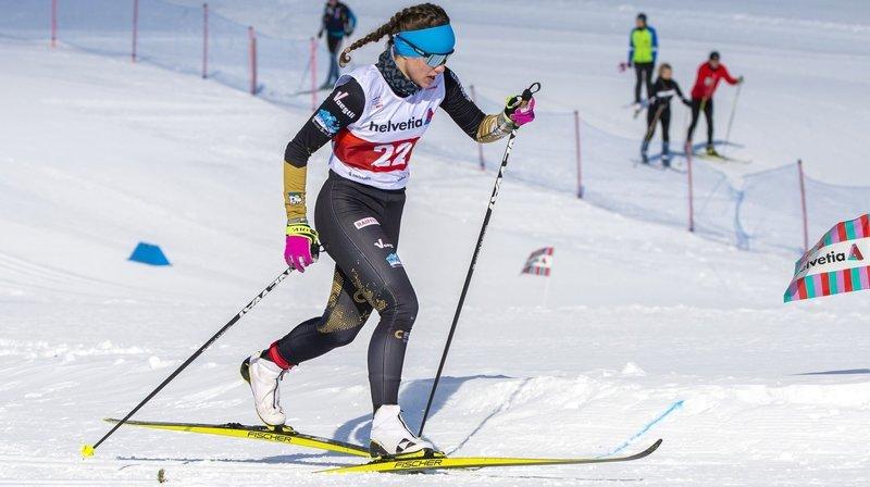 La Brévinière Eileen Audétat brille aux championnats de Suisse jeunesse de fond