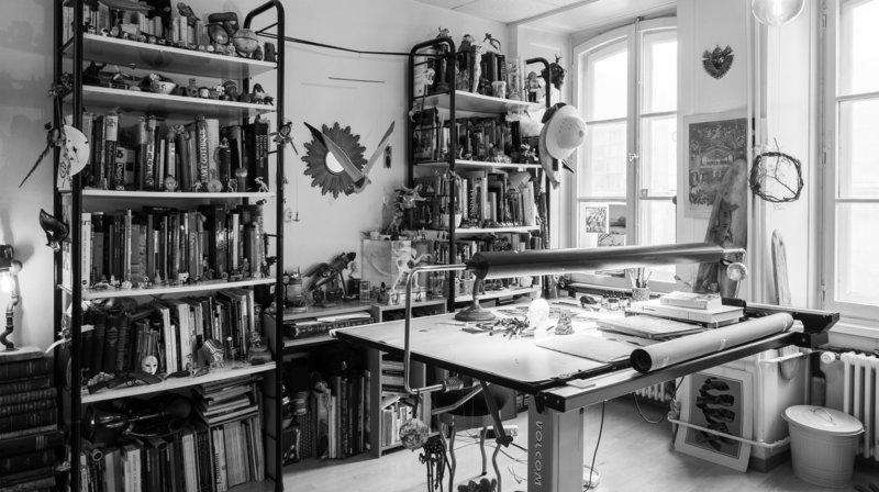 Neuchâtel: balade photographique dans des ateliers d'artistes