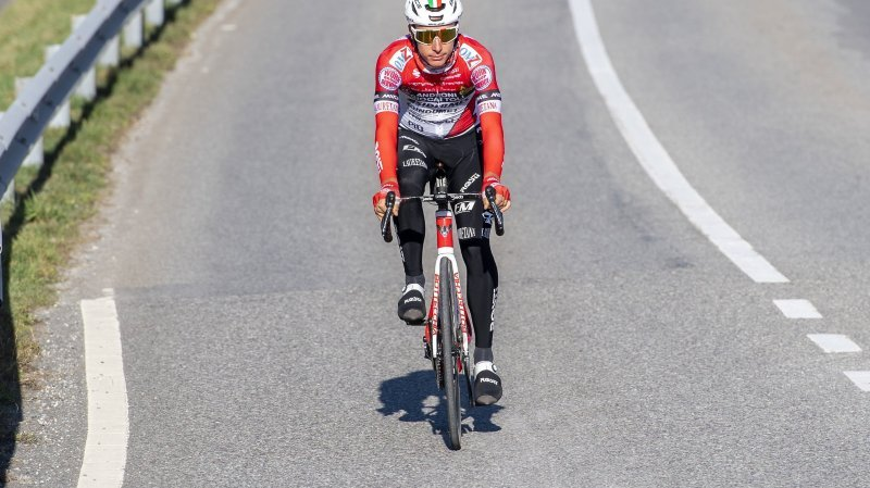 Simon Pellaud courra le Tour de Romandie et, probablement, le Giro en l'espace d'un mois.
