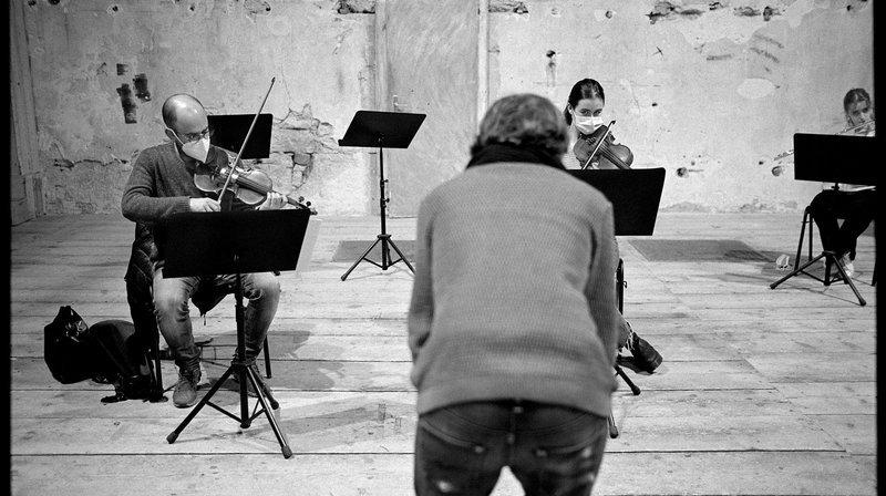 La Chaux-de-Fonds: entre enregistrement et création, le Nouvel ensemble contemporain ne chôme pas